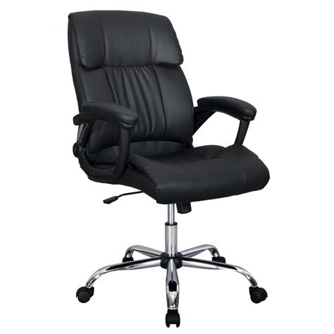 high back desk chair black pu leather high back office chair executive best