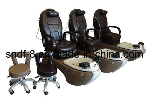 Cadeira Da Massagem Dos Termas De Pedicure Do Salão De