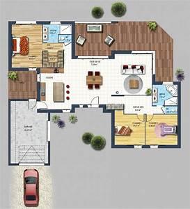 Plan Pour Maison : constructeur maison contemporaine st gilles croix de vie vend e 85 depreux construction ~ Melissatoandfro.com Idées de Décoration