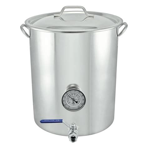 kettle brew welded gallon beer advanced stainless steel kettles 16gal ontariobeerkegs