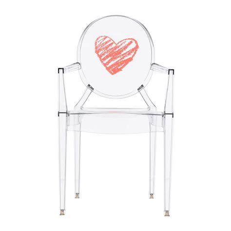 chaise fantome acheter kartell chaise fantôme lou lou pour enfant cœur