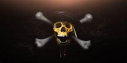 Skull Wallpapers Pirates Caribbean Geometric Poster Artstation