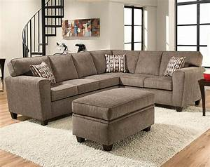 light gray two piece couch mickey pewter two piece With what is a sectional sofas