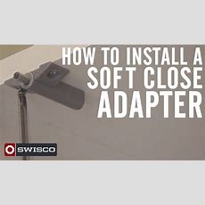 How To Install A Soft Close Adapter On Cabinet Doors  Youtube
