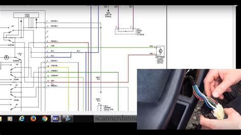 How Test Power Window Switch Motor Toyota