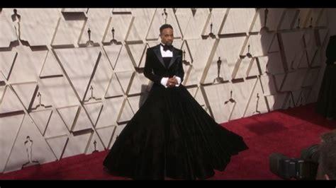 Oscars Red Carpet Billy Porter Slays Christian Siriano