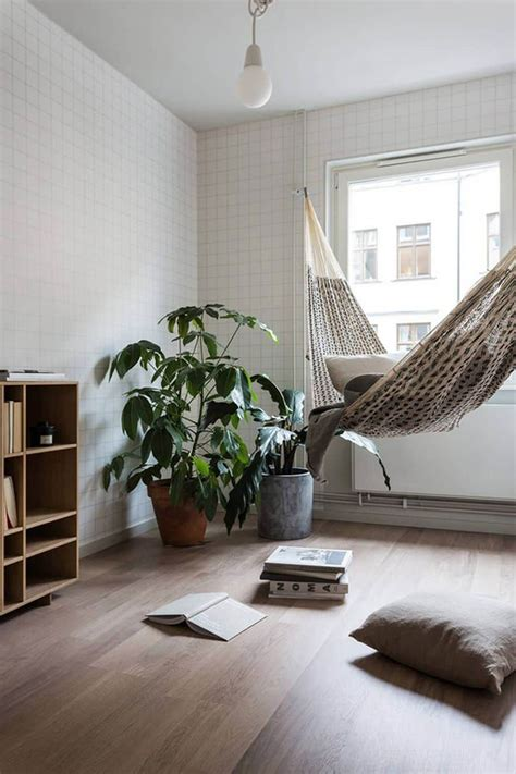 Hammock In Room by 15 Of The Most Beautiful Indoor Hammock Beds Decor Ideas