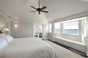 Hamptons Master Bedroom - Beach Style - Bedroom - new york