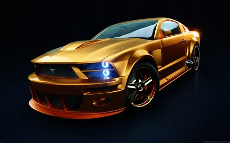 cool golden cars cars car tech