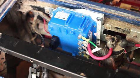 Yamaha Golf Cart Amp Controller Installation Youtube