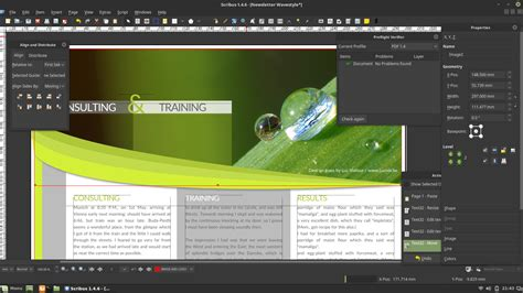 desktop publishing software  windows