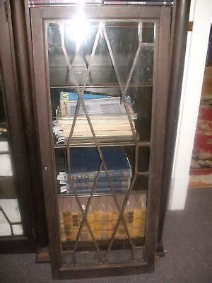 Lawyer Bookcases Glass Doors by Mahogany Lawyer S Bookcase W Glass Doors Iec Mid 1800 S Ebay