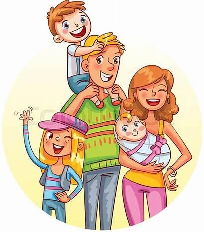 Cartoon Mama Funny Menschen Colourbox Vektor