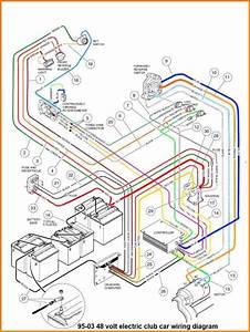 1996 Gas Ezgo Wire Diagram