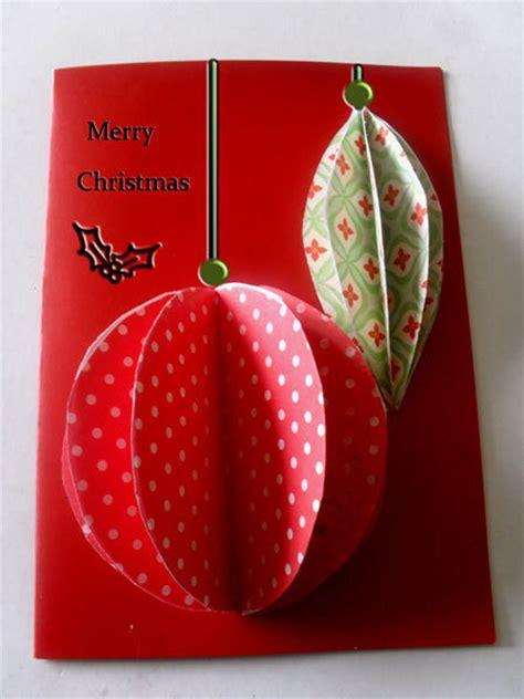 easiest  ornaments christmas card allfreepapercraftscom