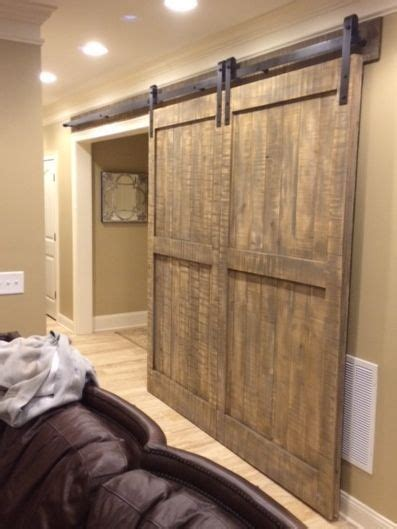 Sliding Doors That Look Like Doors by Custom Pine Barn Door Large Single Doors That Looks Like