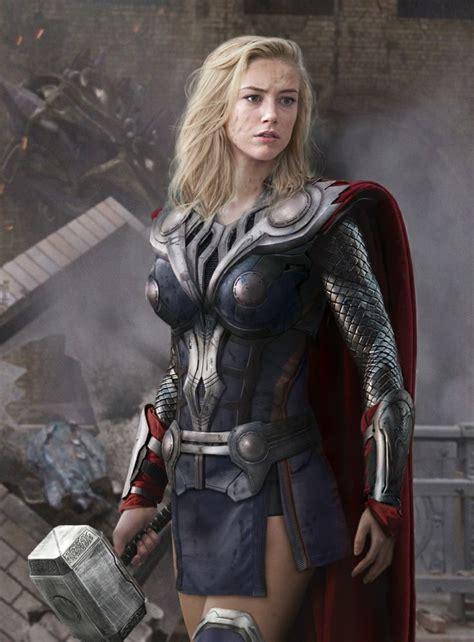 Female Version Of Thor Cosplay Pinterest