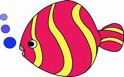 Fish Clipart Colorful Clip Tropical Cliparts Edit