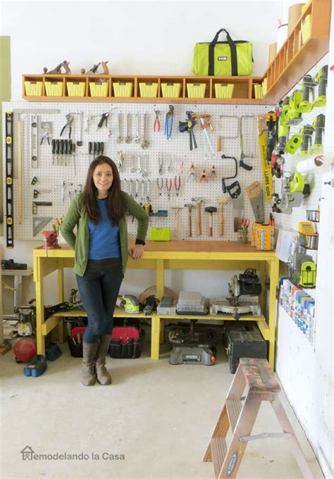 Garage Organization How To by Garage Organization How To Install A Pegboard In 2019