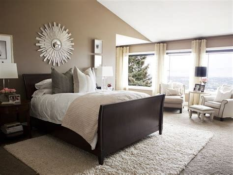 Bedroom Decor Ideas With Brown Furniture by Simple And Serene Master Bedroom Bedrooms Black