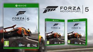 forza motorsport 5 shows off first xbox one box art