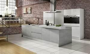 Küche Aus Beton : k chengestaltung k chentrends stein beton und metall ~ Sanjose-hotels-ca.com Haus und Dekorationen