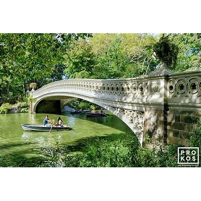 Bow Bridge in Summer Central Park II -
