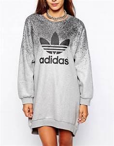 Adidas adidas originals x rita ora sweat dress at asos for Robe sweat adidas