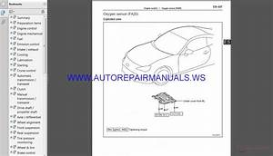 Subaru Brz Z10 2017 Service Manual