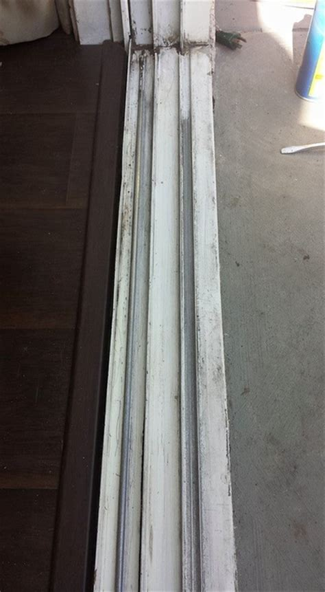 sliding glass patio door repairs track or roller repair