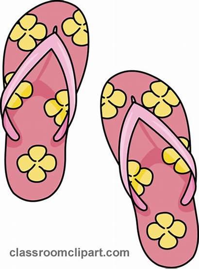 Clip Summer Clipart Sandals Info Hawaiian Flip