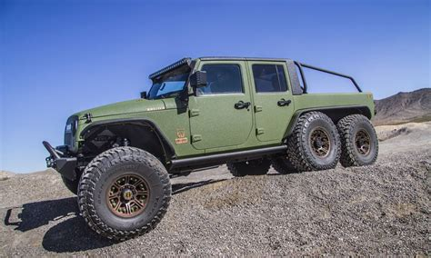 Bruiser Conversions 6×6 Jeep Wrangler Pickup