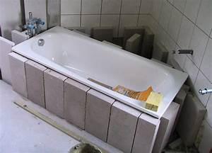 Badewanne Einbauen Anleitung : badewanne setzen so setzen sie fachgerecht ihre neue badewanne ~ Markanthonyermac.com Haus und Dekorationen