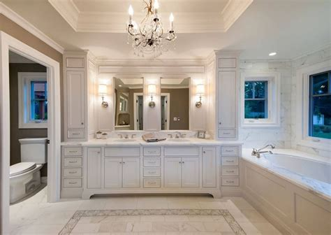 bathroom remodel cost   mid range upscale