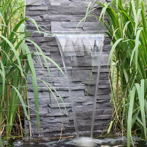 wasserfall wand selber bauen garten wasserfall selber bauen