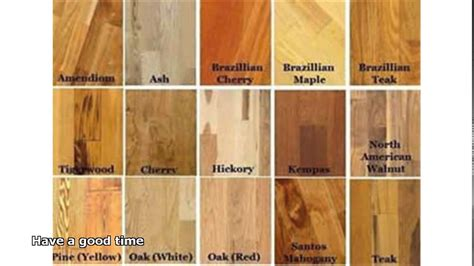 hardwood floors types of wood types of hardwood floors youtube intended for types of