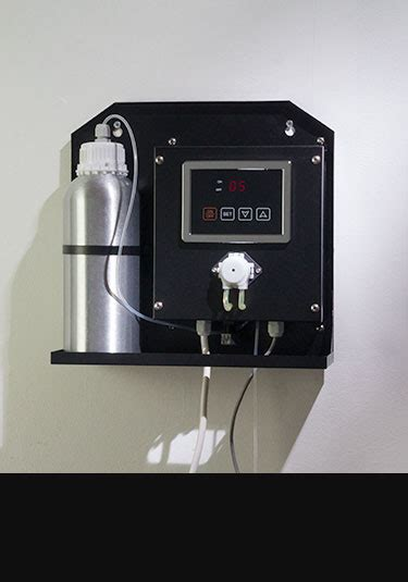 aromatherapy pumps dispenser  steam rooms livinghouse