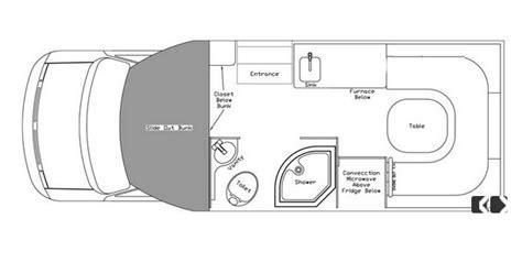class  motorhome floor plan class  motorhome persuit