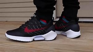 "NIKE HYPERADAPT ""BRED"" ON FOOT LOOK!!!!! - YouTube  Nike"