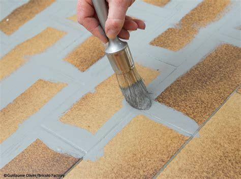 peindre les joints de carrelage au sol peinture carrelage pour le sol d 233 coration