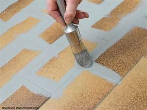 peinture carrelage pour le sol elle decoration With comment peindre un carrelage