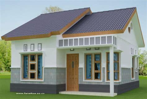 kumpulan contoh desain rumah sederhana desain rumah