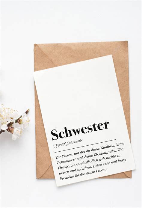 schwester grusskarte    images diy birthday