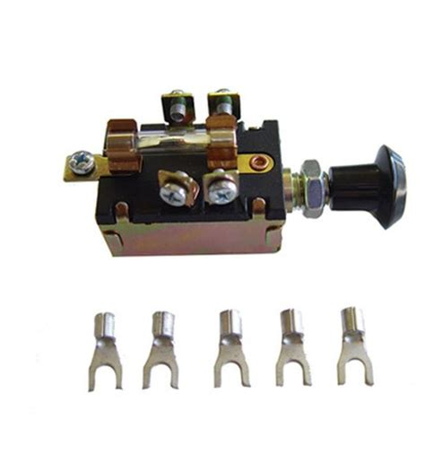 headlight switch universal rod wires