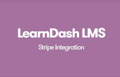 download wordpress learndash lms stripe integration addon
