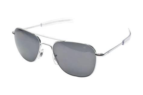 ao eyewear limited edition original pilot silver bayonet