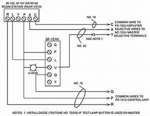 Tektone Nurse Call Wiring Diagram