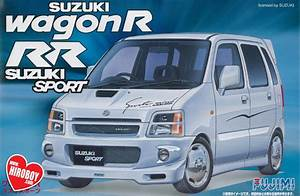 1 24 Suzuki Wagon R  U0026 39 Rr U0026 39   Suzuki Sport  Model Kit