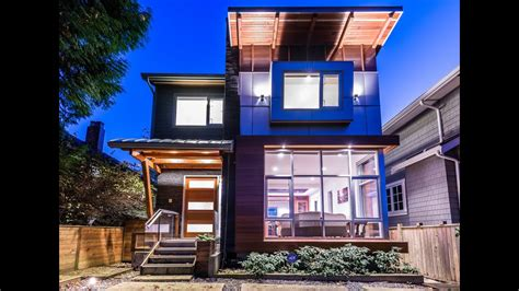 Contemporary Vancouver West Side Modern House For Sale