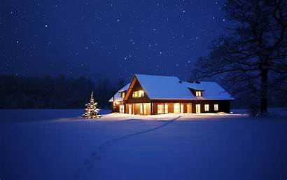 Winter Night Cool Pixelstalk